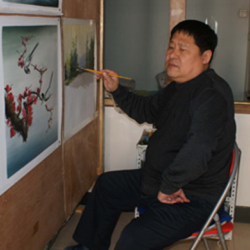 油画家邹玉英字画之家