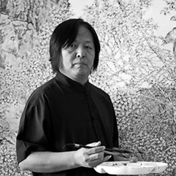 国画家张志平字画之家