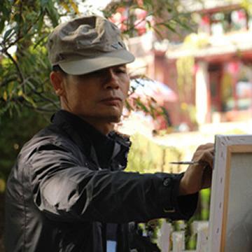 油画家汤垚字画之家