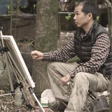 油画家吴志猛字画之家