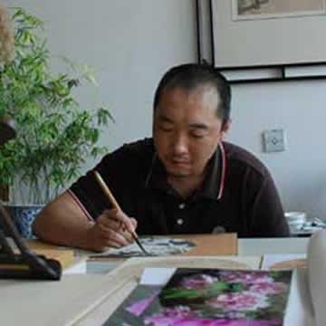 国画家李智字画之家