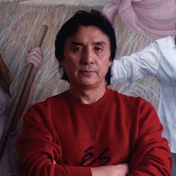 油画家刘孔喜字画之家