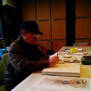 国画家王湘隆字画之家