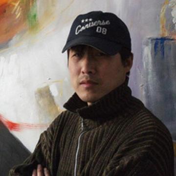 油画家冯启奎字画之家