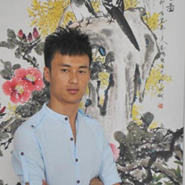 国画家刘鹏字画之家