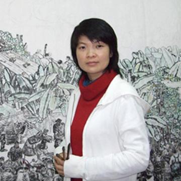 国画家钟雪梅字画之家