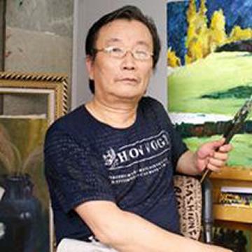 油画家刘平字画之家