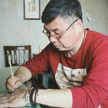 莫新旺小六尺整张,横幅夏山晓晴字画之家