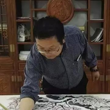 李靖三尺斗方茶在口中是人生字画之家