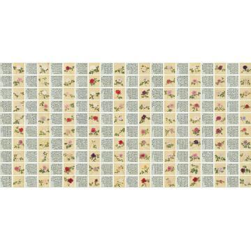 蒋廷锡百种牡丹谱绢本册页