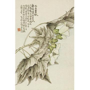 黄士陵1899年作花果册册页(十二开选一)