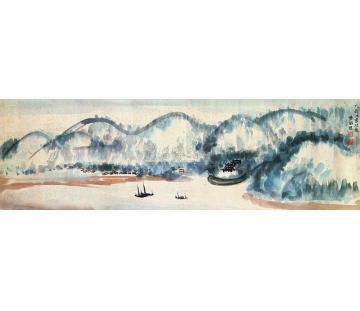 黄般若香港山水横幅