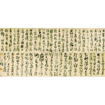 王铎庚寅(1650)年作临古帖手卷