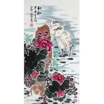 徐鸿海国画花鸟秋酣字画之家