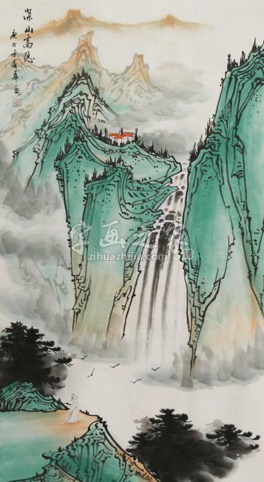 国画家唐春华字画之家