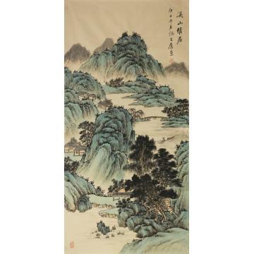 张之鹰国画山水溪山雅居字画之家