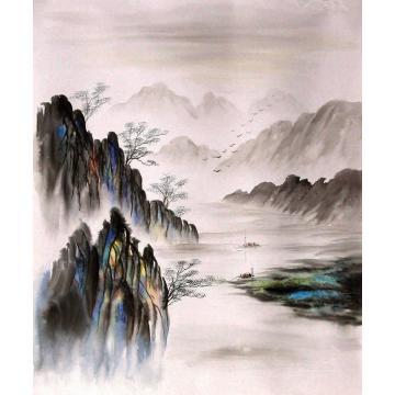 赵云吴油画风景现代风景油画字画之家