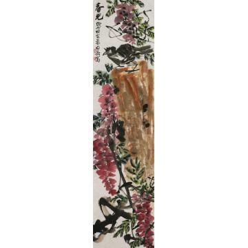 张安涛国画花鸟春光字画之家