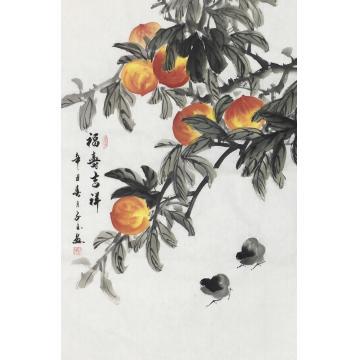 李子玉国画花鸟福寿吉祥字画之家