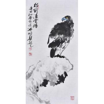杨怀山国画花鸟待到凌云时字画之家
