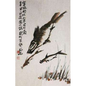 张安涛国画花鸟三余图字画之家