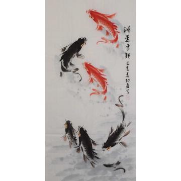 邵磊国画花鸟鸿运当头辛丑×5字画之家