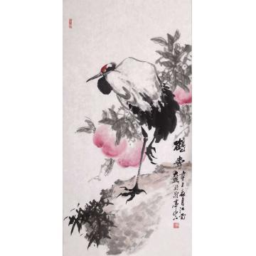 朱大成国画花鸟鹤寿字画之家