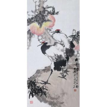 朱大成国画花鸟大寿字画之家