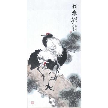 朱大成国画花鸟松鹤字画之家