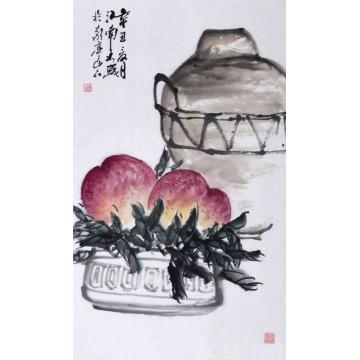 朱大成国画花鸟双寿字画之家