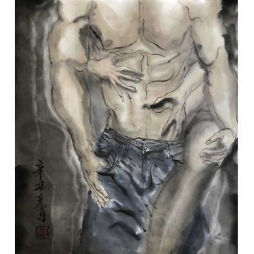 李彦肖国画人物欲字画之家