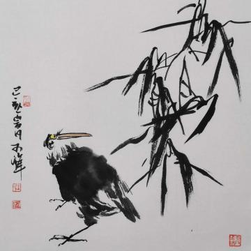 王可峰国画花鸟回首字画之家