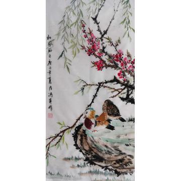 冯芹国画花鸟和风丽日字画之家
