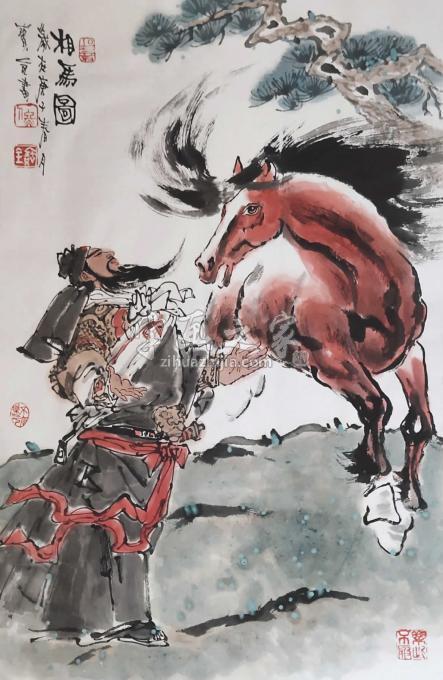 佟宝全国画动物相马图字画之家
